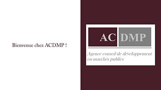 Présentation ACDMP