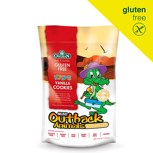 "GALLETITAS SABOR VAINILLA ""OUTBACK ANIMALS"" MINI PACKS"