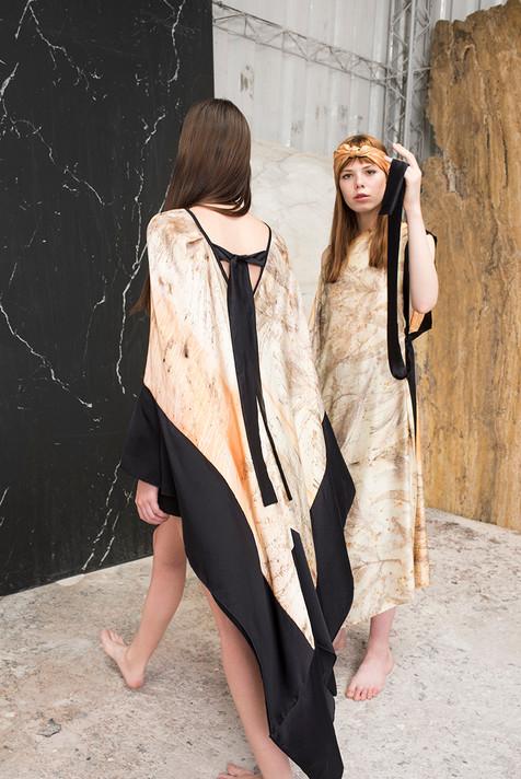 ELE Dress, AMM Dress & MANO Scarf