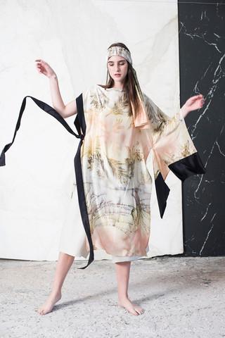 AMM Dress & MANO Scarf