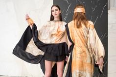 ELE Dress, NERO Chiripá Shorts, AMM Dress & MANO Scarf