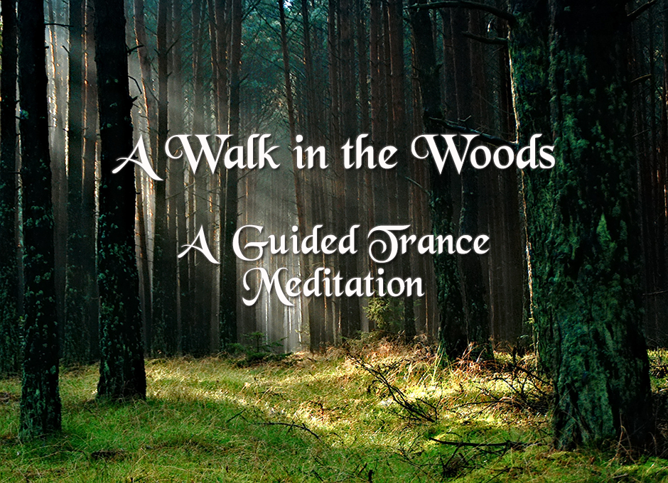 A Walk in the Woods   A Guided Trance Meditation