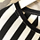 Thumbnail: Maxi abito righe bianche/nere