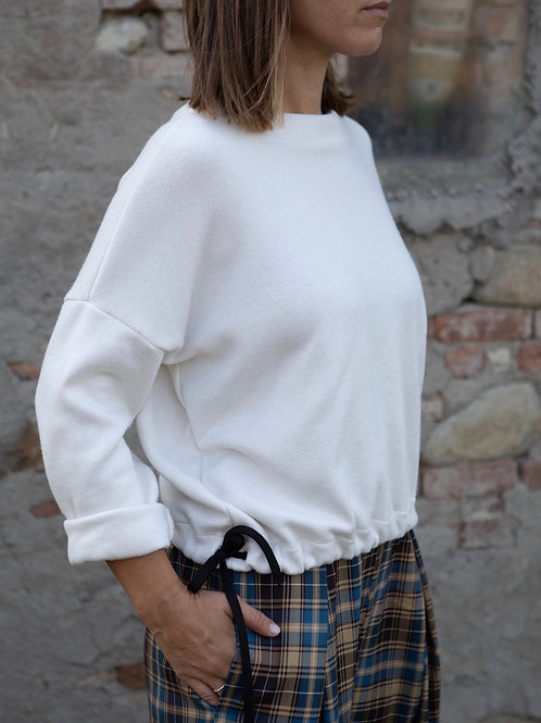 "Maglione avorio ""Gelso"""