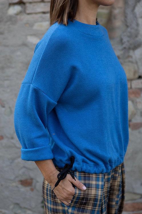 """Maglione azzurro cielo """"Gelso"""""""