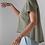 Thumbnail: T-shirt asimmetrica verde salvia