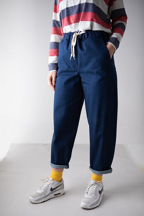 Jeans sportivo blu