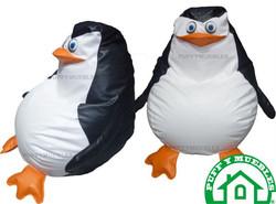 Puff pingûino madagascar