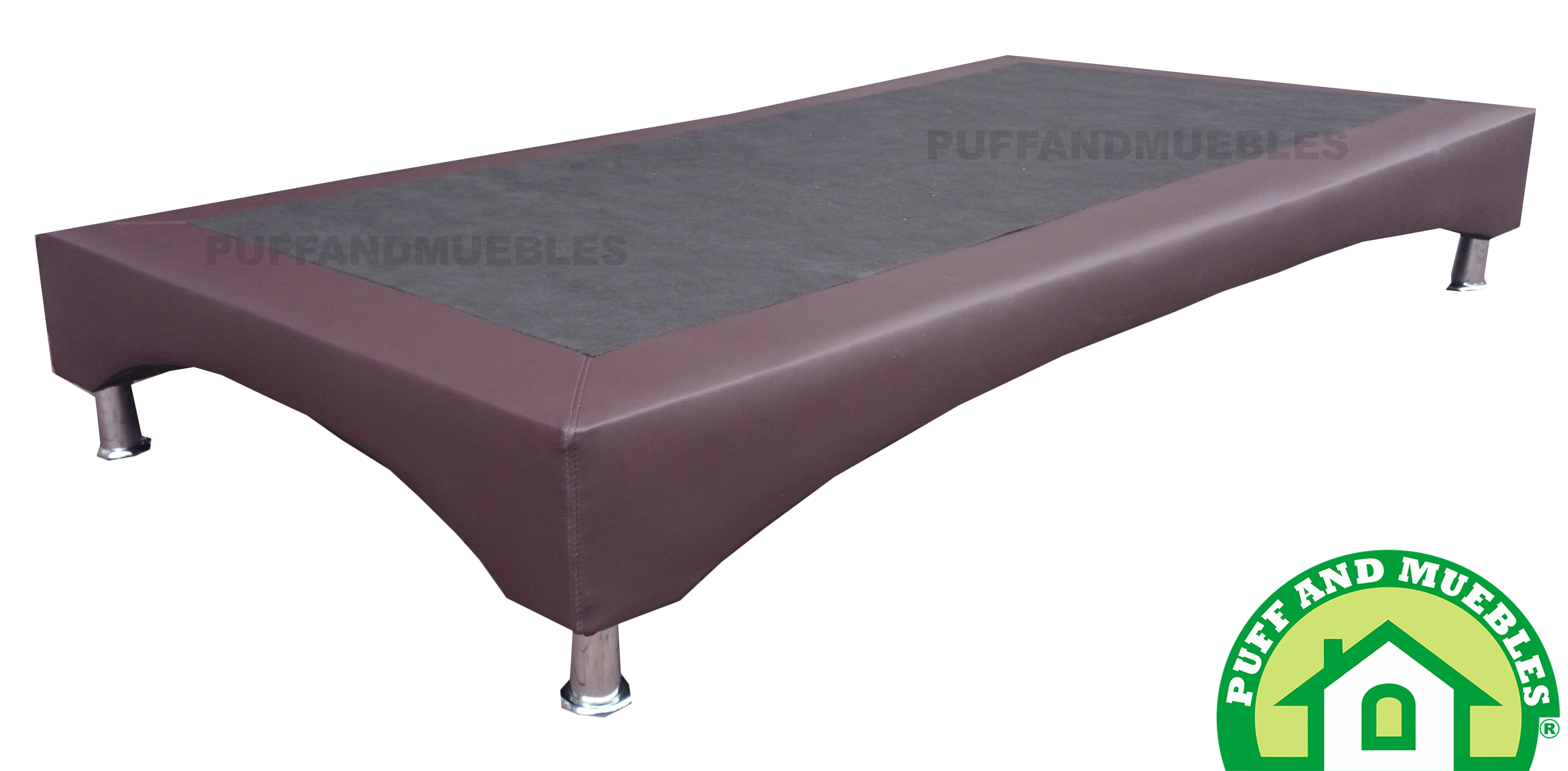 BASE CAMA CURVA