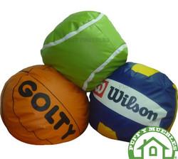 Puff basket - tenis - voleibol
