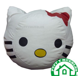 Puff hello kitty