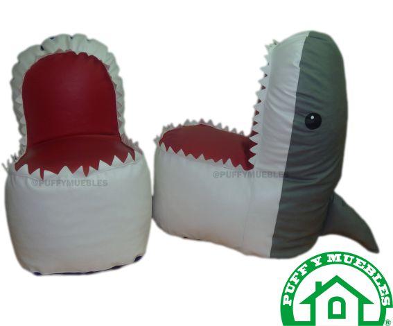 Puff tiburón