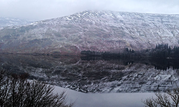 View from Lake View Room at Haweswater Hotel