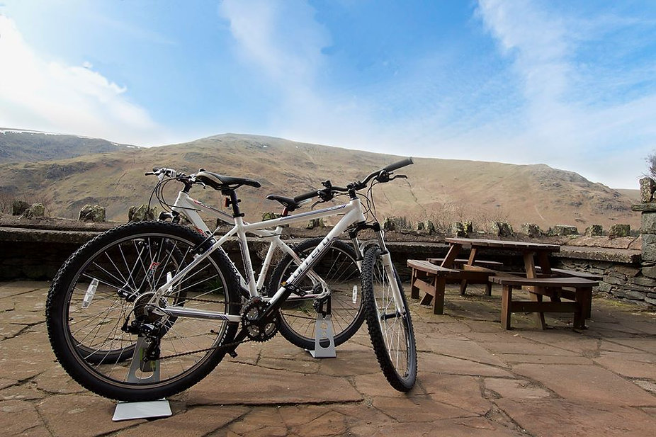 Bikes at Haweswater