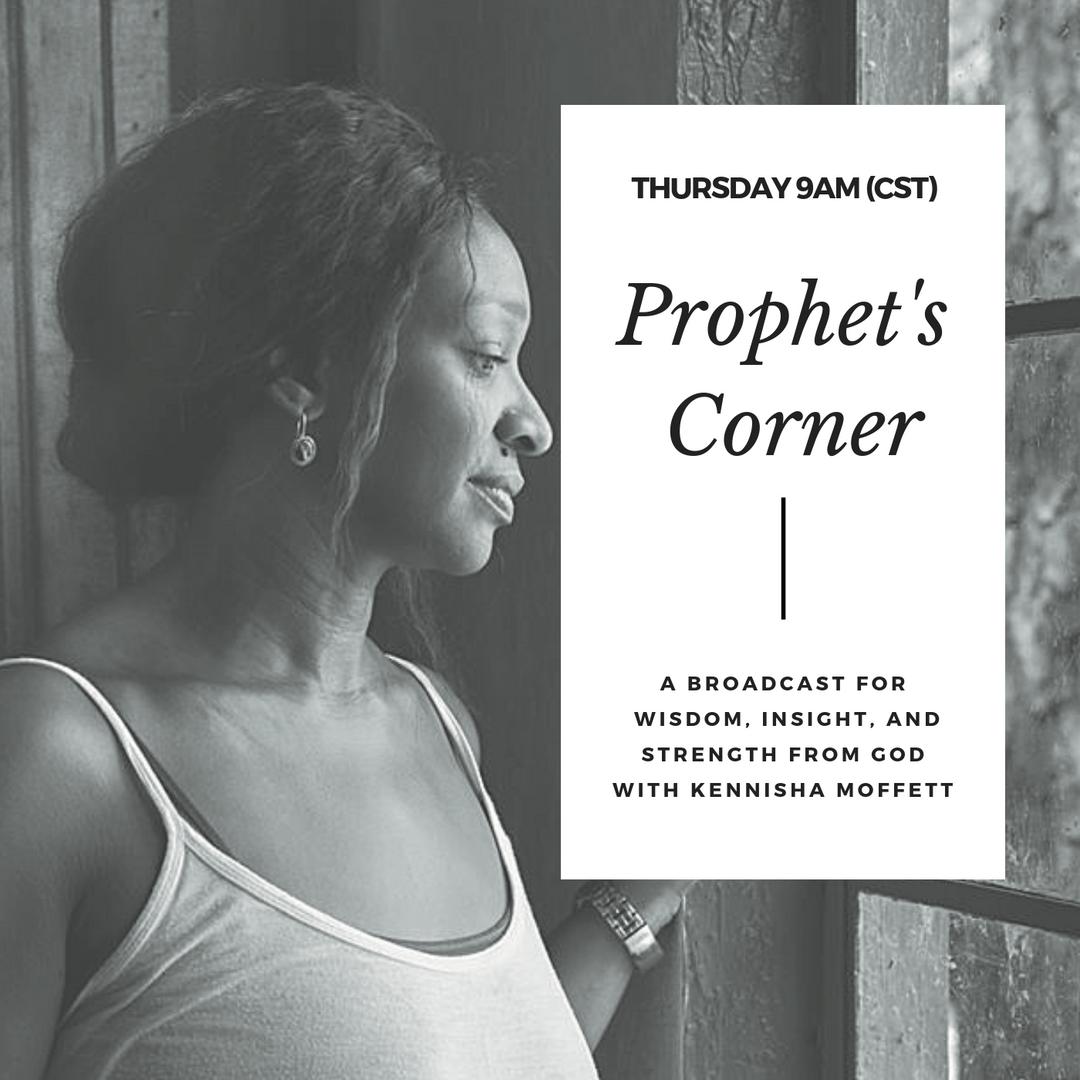 NEW SHOW! Prophets Corner