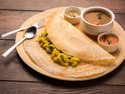 Dosa – A famous South Indian dish to die for!