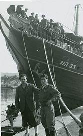 La Spezia 1946 Nave per emigrazione ille