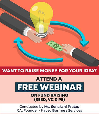 Webinar on Fund Raising (Seed, PE & VC)