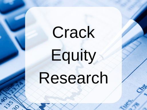 Cracking the Equity Research Code