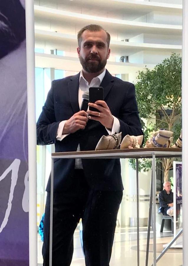 Konferansjer Mołotkin Michał