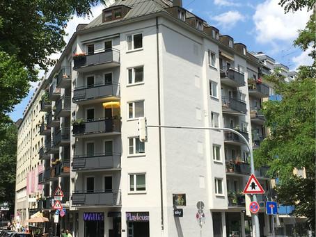 """Wohnen im Stadtzentrum von München 1-Zimmer Apartment  """"An der Hauptfeuerwache 12"""" - ab 01.03.2021"""