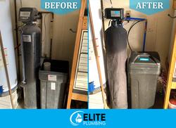 New Water Softener Install