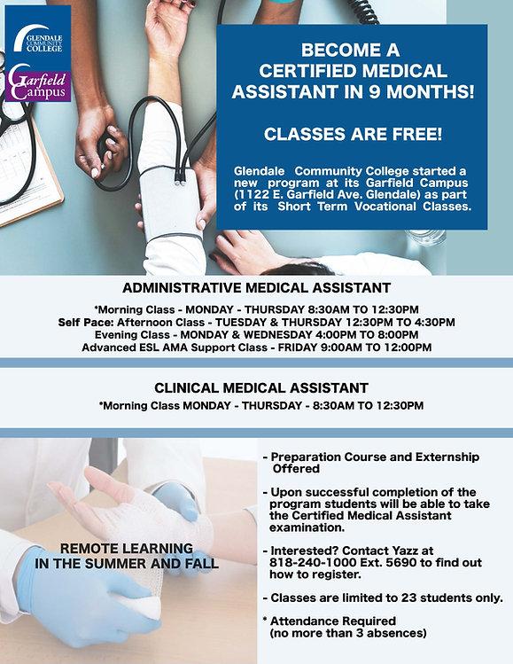 Medical Asst flyer Summer 2020.jpg