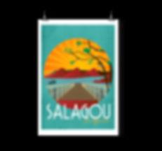 Poster Salagou