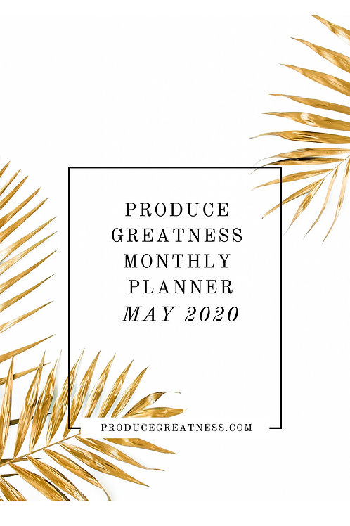 Monthly Printable Planner
