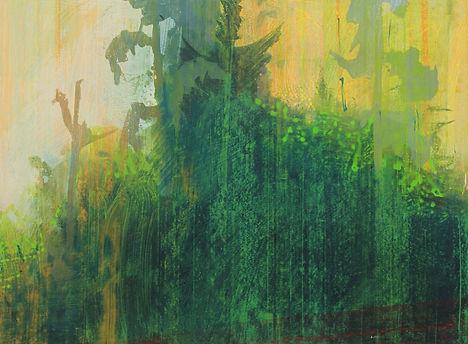 Wildwood 3 acrylic on paper 46 x 61 cm.j