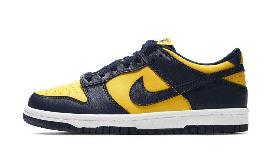 Nike Dunk Low GS 'Michigan'