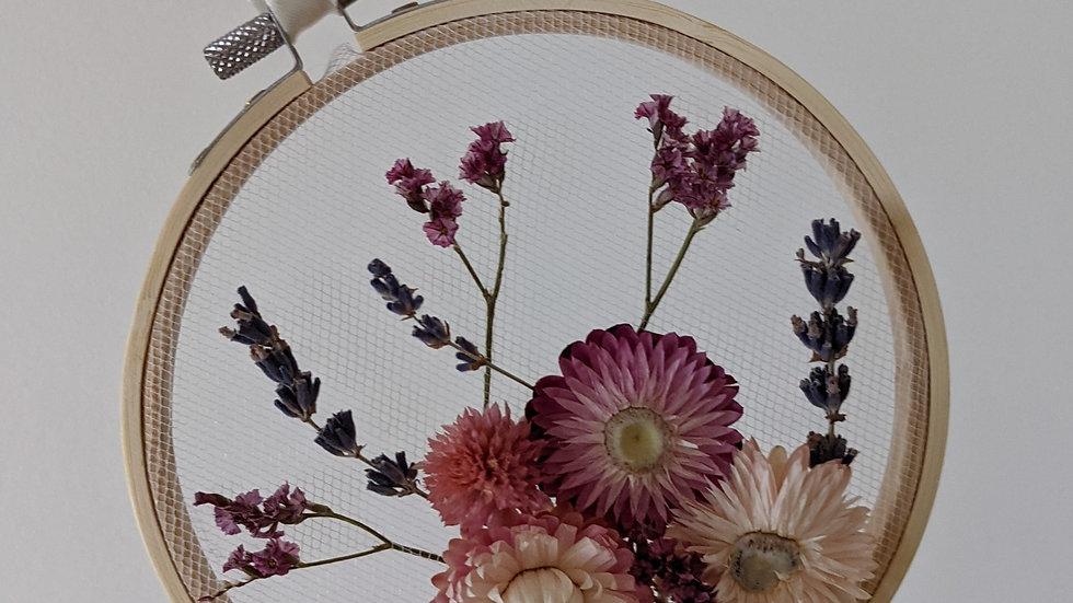 Flower Embroidery Hoop