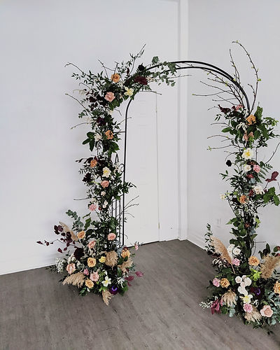Floral-Foam Free Archway - The Sustainable Florist