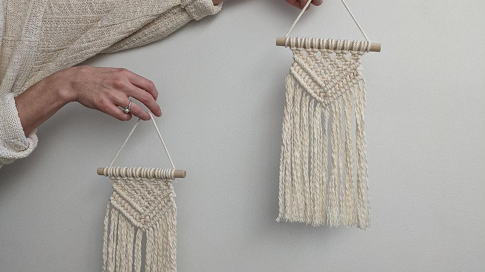 Mini Macrame Hangers