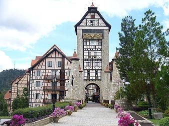 french-village-style-resort-bukit-tinggi