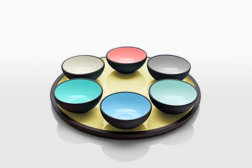 Soft Colors Passover Plates