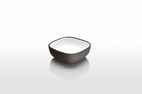 Monochrome Square Soup Bowl