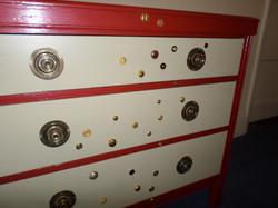 Button chest detail