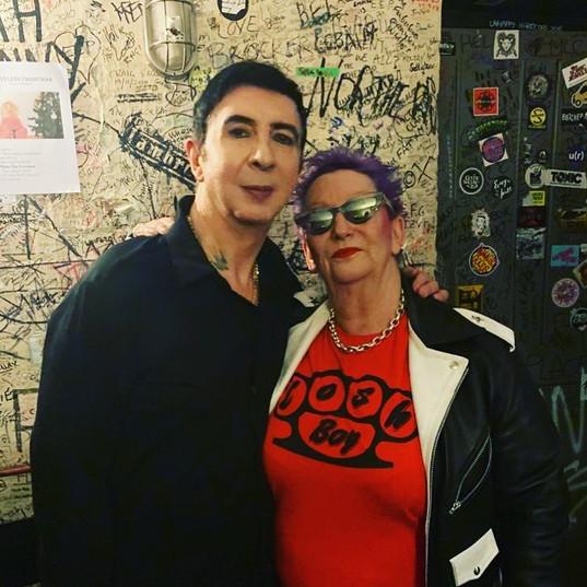 Marc Almond with Jordan
