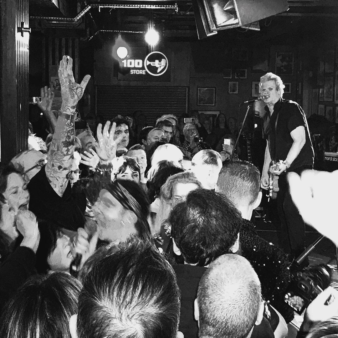 Marc in the crowd 100 Club