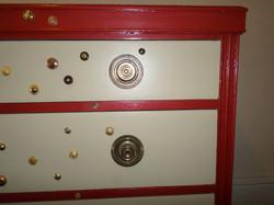 Button chest top detail