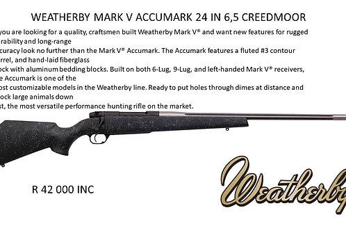 WEATHERBY MARK V ACCUMARK 24INCH 6.5 CREEDMOOR