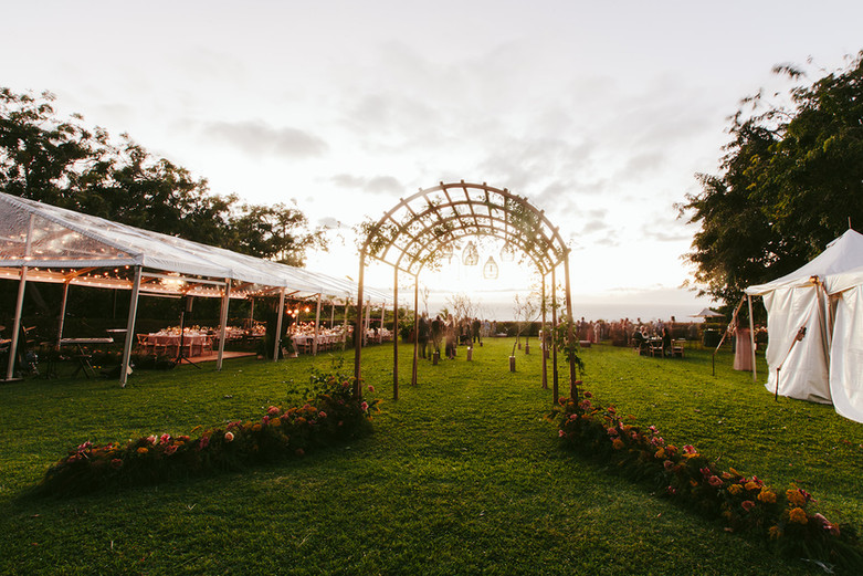 Artisan-Events-Maui-Custom-Destination-Wedding-Event-Rental-Chateau-Arched-Trellis-Ceremony-Dining-Canopy-Structure-KhandCo-HotelWailea-MandyGraceDesigns(4)
