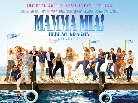 MAMA MIA HERE WE GO AGAIN!