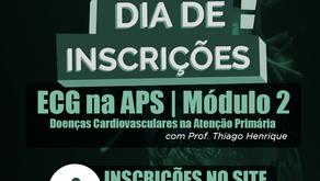 AS INSCRIÇÕES PARA O MÓDULO 2 ENCERRAM HOJE!