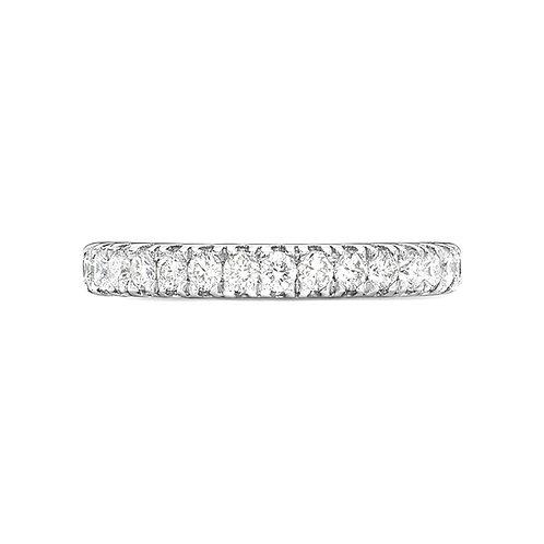 Micro claw Diamond Set Band