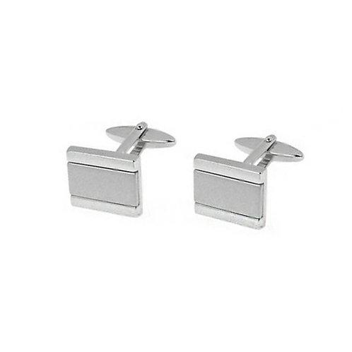 Stainless Steel Rectangle Cufflinks