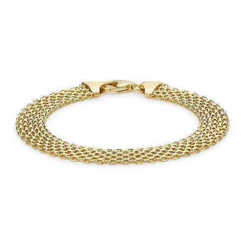 9ct Yellow Gold Bismark Bracelet