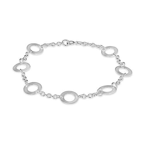 Sterling Silver Circle Bracelet