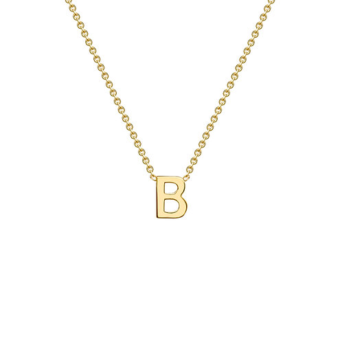 9ct Yellow Gold Initial B